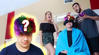 CRAZY HAIR DYE PRANK GONE WRONG!