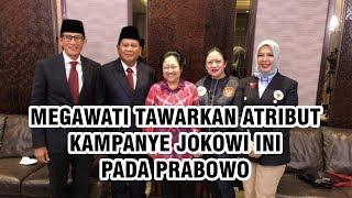 Percakapan Jelang Debat, Megawati Tawarkan Atribut Kampanye Jokowi untuk Prabowo