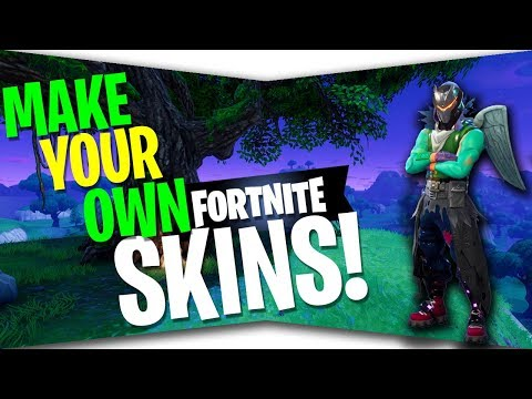 How to Make Your OWN Fortnite Skin!