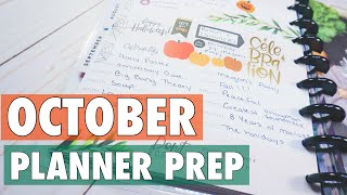 OCTOBER HAPPY PLANNER CURRENTLY PAGE PLAN WITH ME | DIY CURRENTLY PAGE