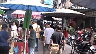 preview picture of video 'China Town, Khlong Thom & Sampeng Markets, Bangkok, Thailand ( 2 )'