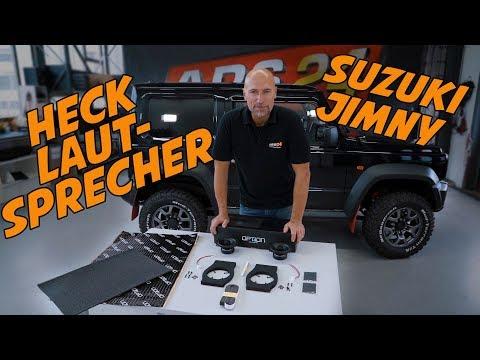 Suzuki Jimny GJ   Hecklautsprecher in den Jimny einbauen   ARS24