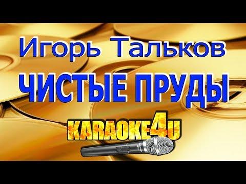 Игорь Тальков | Чистые пруды | Караоке (Кавер минус)