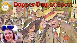 It's Dapper Day at Disney World's Epcot: what not to wear!