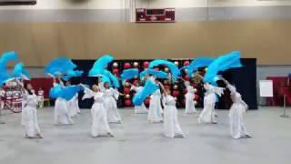 170129 Chinese Folk Dance Fan Dance 花水月 Lan Ling Wang Theme Song