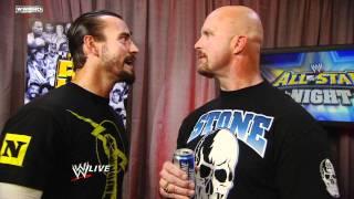 Raw: CM Punk Confronts Stone Cold Steve Austin