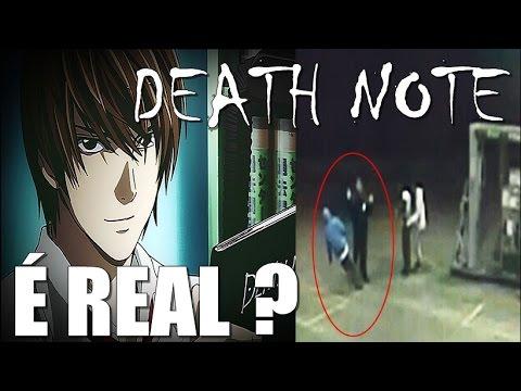 DEATH NOTE É REAL? [MUNDO BIZARRO] (видео)