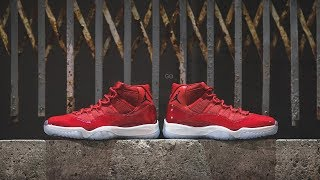 online store 6b871 a35a4 air jordan 11 win like 96 - Free video search site ...