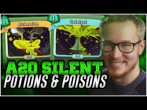 Potions and Poisons! | Ascension 20 Silent Run | Slay the Spire