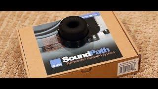 SVS Soundpath Isolation System Tested on a Subwoofer Jamo J112