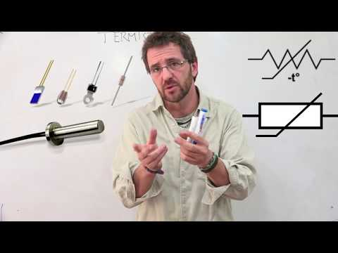 ¿Qué es un termistor? ¿NTC?¿PTC?