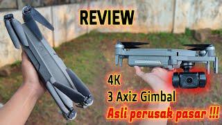 WAJIB BELI - REVIEW MJX Bugs 16 Pro GIMBAL 3 AXIZ 4K bening