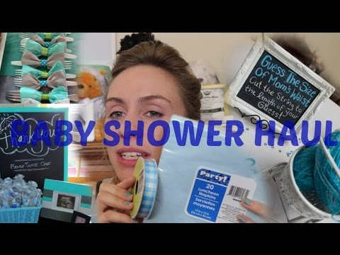 Dollar Tree Baby Shower Haul