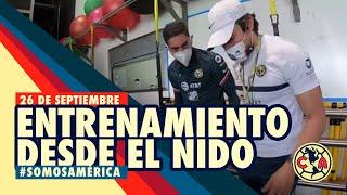 Entrenamiento 26 de Septiembre previo al Clásico Joven desde el Nido Águila