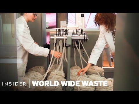 Světový odpad: Recyklační stroje H&M