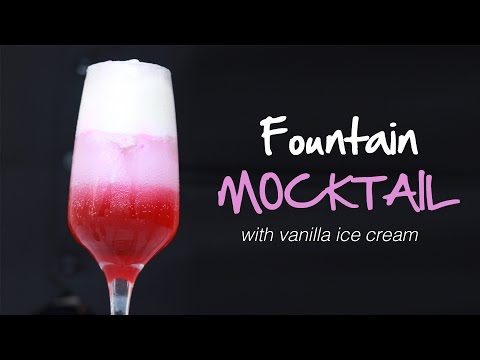 How to Make Soda Fountain Mocktail Party Drink Recipe by Cooking Simplified