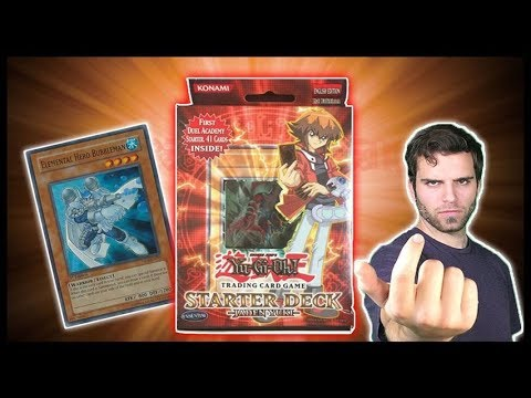 YuGiOh GX Jaden Yuki 2007 Starter Deck Opening & Review! | My First Time! OH BABY!!