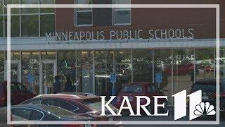 Minneapolis Public Schools parent protest