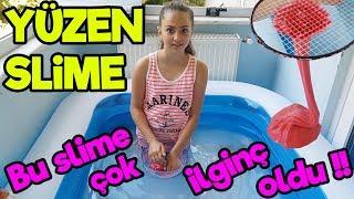 Suda Slime , Havuzda Slime Yaptım | Fenomen Tv