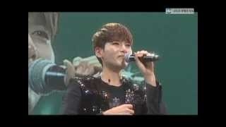 Ким Рёук, [cut/official] 130124 Ryeowook Crying at Super Junior KRY Concert in Budokan