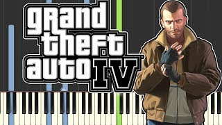 Grand Theft Auto IV -  Soviet Connection using only piano