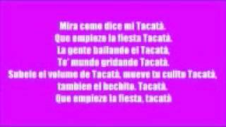 tacabro tacat lyrics video