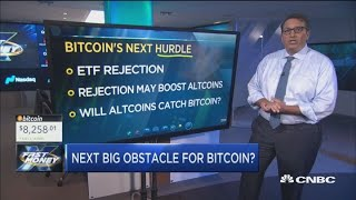 Bitcoin's bouncing back but this could be the next big hurdle to pass