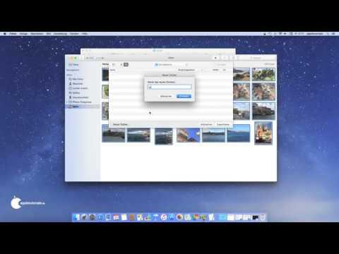 Mac OS X - Wie man eine CD oder DVD am Mac brennen kann