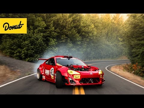 RIP GT-4586 : Ferrari-Powered Toyota drifts a Portland Touge