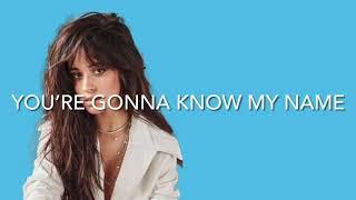 Camila Cabello - Million To One (Lyrics) *UNRELEASED*