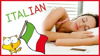 Learn ITALIAN while you sleep - Learning a foreign language while sleeping - Italian language course