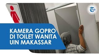 Temuan Kamera Tersembunyi di Toilet Kampus Gegerkan UIN Alauddin Makassar