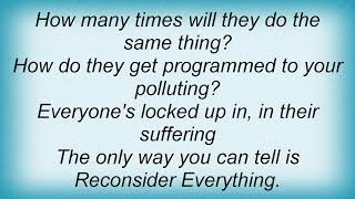 311 - Reconsider Everything Lyrics