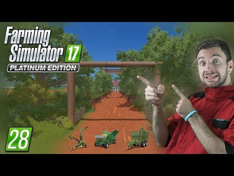 STROJE NA CUKROVOU TŘTINU! | Farming Simulator 17 #28