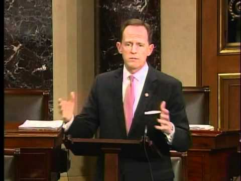 Sen. Toomey defends the balanced budget amendment