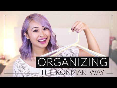 How to Organize Your Closet the KonMari Way