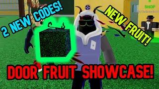*NEW FRUIT* Door Fruit Showcase Blox Fruits Update 15 (2 NEW CODES)