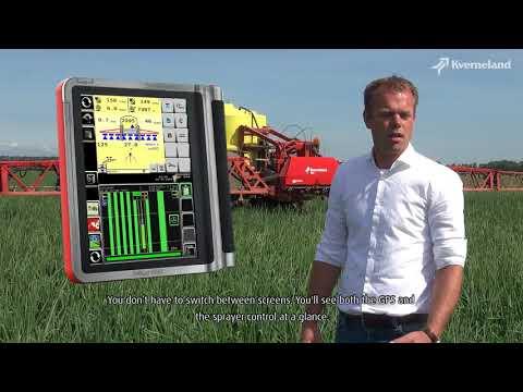 Kverneland IsoMatch Tellus Pro m/isobuskontakt - film på YouTube