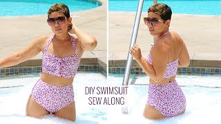 DIY Swimsuit Tutorial & Sew-Along