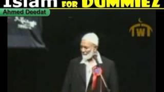 Holy Bible or Sacred Quran, Ahmed Deedat Anis Shorrosh, Islam for Dummies, Muhaddith.org