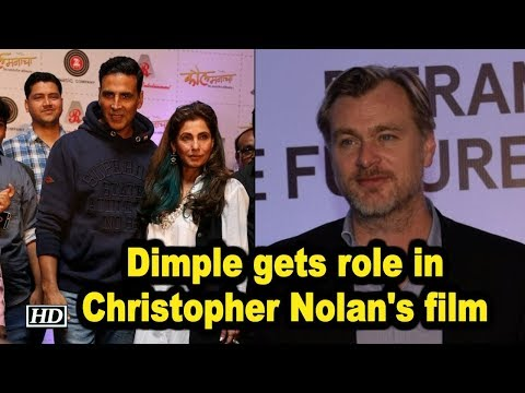 Dimple gets role in Christopher Nolan's film   Bollywood congratulates her