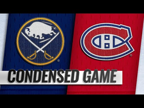 03/23/19 Condensed Game: Sabres @ Canadiens