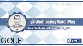 #WednesdayMatchPlay with Marika Washchyshyn from Golf.com