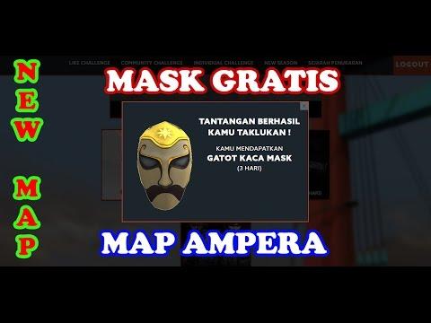 Video Cara Mendapatkan Mask Gatot Kaca Gratis 3hari - New Ampera Map