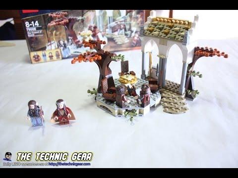 Vidéo LEGO Le Seigneur des Anneaux 79006 : Le conseil d'Elrond