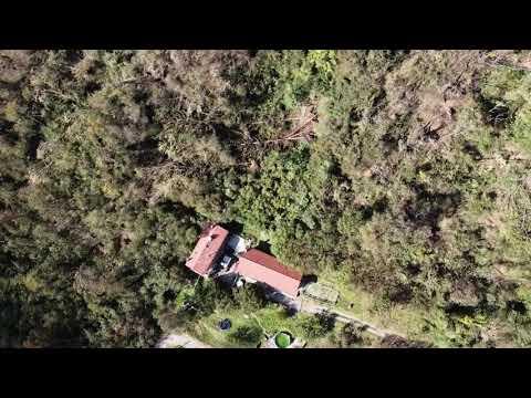 La tempesta su Cittiglio ripresa col drone