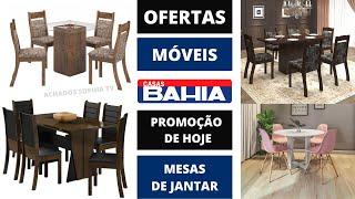 CASAS BAHIA Mesas OFERTA DO DIA MÓVEIS SALA DE JANTAR E COZINHA Promoção De Hoje 2020 | SOPHIA TV