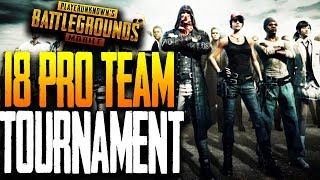 18 PRO TEAM TOURNAMENT PLAYOFF - ft. Blacklist, nMe, Wolfpack, GS in PUBG Mobile