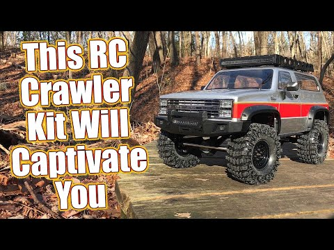 Gmade GS02F Buffalo TS Scale RC Crawler Kit Review