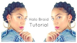 Halo Braid On Natural Hair Free Online Videos Best Movies Tv Shows
